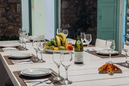 Villa Mando 1, Outside Dining Table