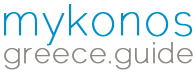 Mykonos Greece Guide logo