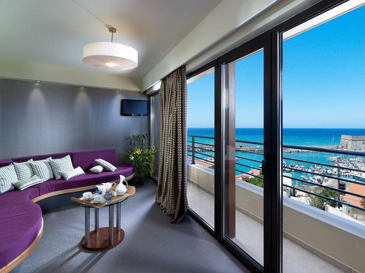 Executive Suite - Sitting Area - Lato Boutique Hotel