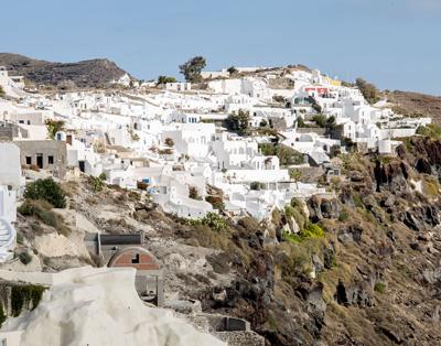 Oia, Santorini view